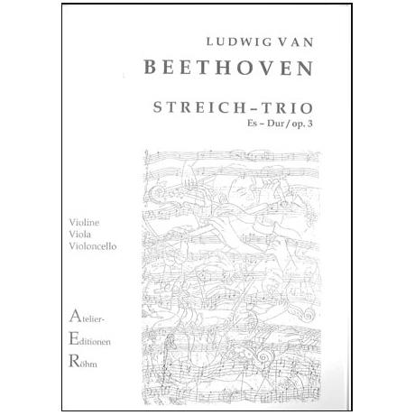 Beethoven, L.v.: Streichtrio in Es - Dur op. 3