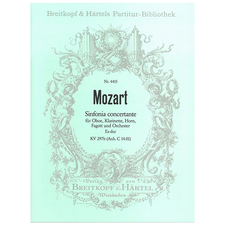 Mozart, W. A.: Sinfonia concertante Es-Dur KV 297b (Anh. C 14.01)