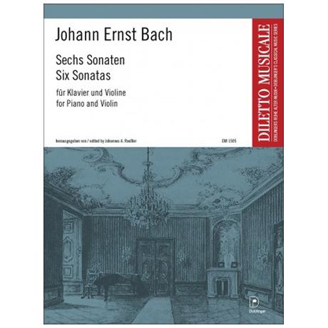 Bach, J. E.: 6 Violinsonaten