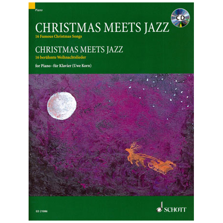 Korn, U.: Christmas Meets Jazz (+CD)