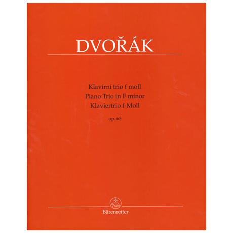 Dvořák, A.: Trio Op.65 f-Moll