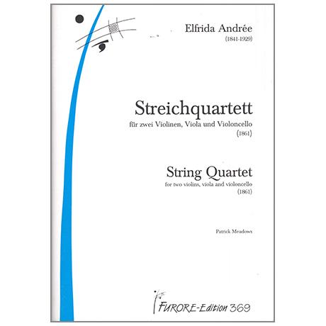 Andrée, E.: Streichquartett