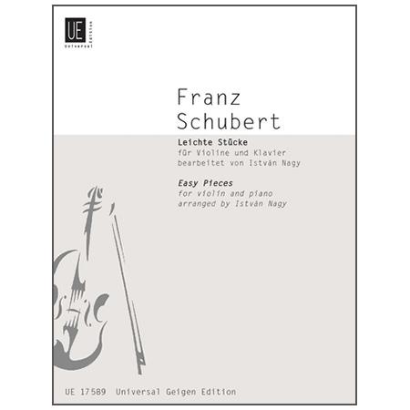 Schubert, F.: Leichte Stücke
