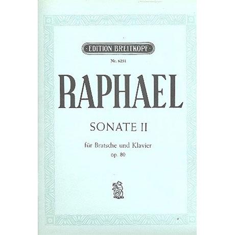 Raphael, G.: Sonate II Op.80