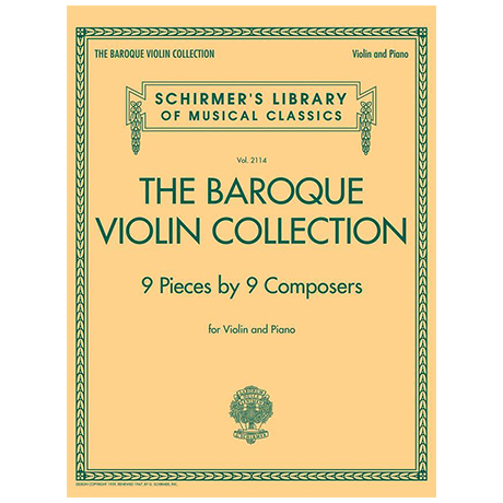 The Baroque Violin Collection