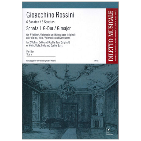 Rossini, G. A.: Violasonate Nr. 1 G-Dur