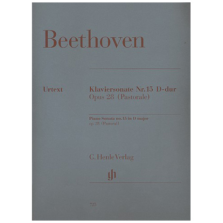 Beethoven, L. v.: Klaviersonate Nr. 15 D-Dur Op. 28 Pastorale