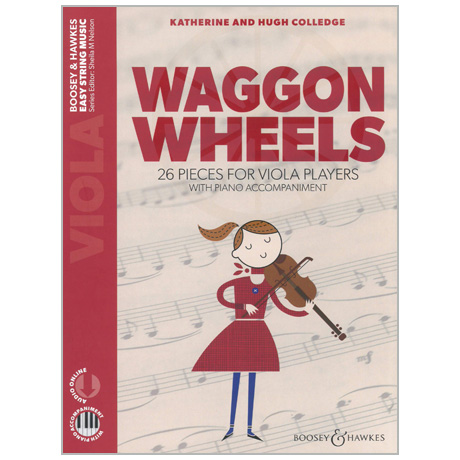 Colledge, K. & H.: Waggon Wheels for Viola (+Online Audio)