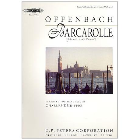Offenbach, J.: Barcarole aus Hoffmanns Erzählungen (Griffes)
