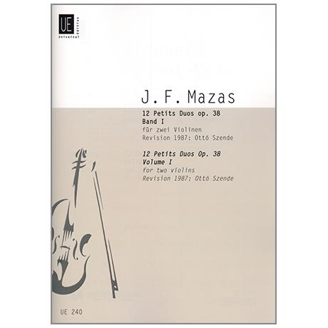 Mazas, J-F.: 12 kleine Duette Op.38 Band 1
