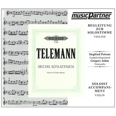 Telemann: 6 Sonatinen - nur CD
