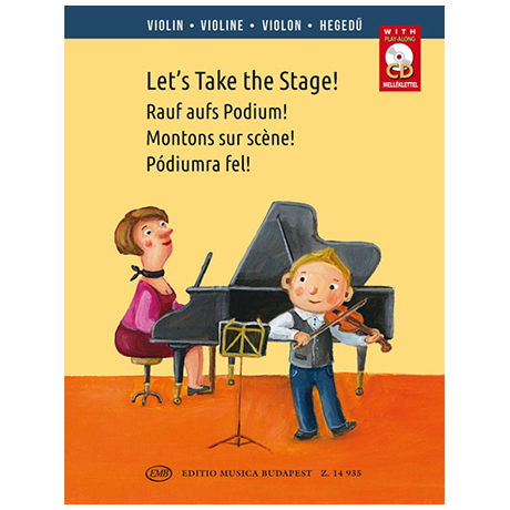 András, S.: Let's Take the Stage! – Rauf auf's Podium! (+CD)