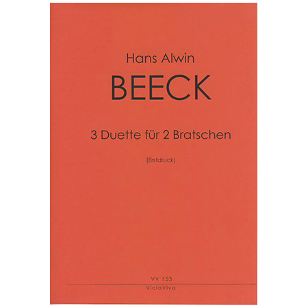Beeck, H. A.: 3 Duette