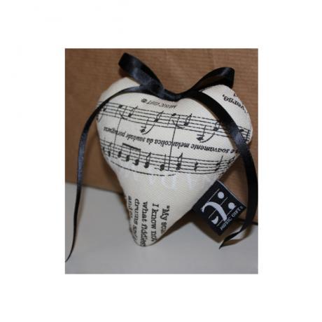 Sachet de lavande Musical Heart
