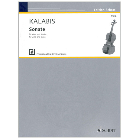 Kalabis, V.: Violasonate Op. 84 (1997)