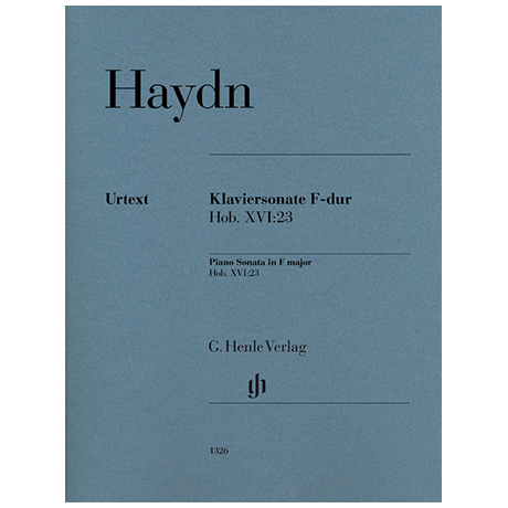 Haydn, J.: Klaviersonate F-Dur Hob. XVI: 23