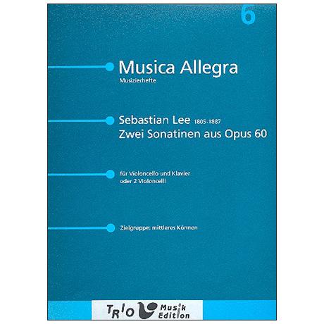 Lee, S.: 2 Sonatinen aus Op. 60