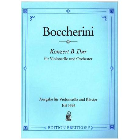 Boccherini, L.: Violoncellokonzert Nr. 9 G.482 B-Dur