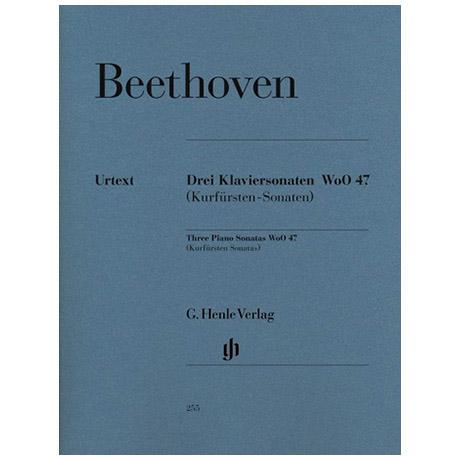 Beethoven, L. v.: 3 Klaviersonaten WoO 47 Kurfürstensonaten