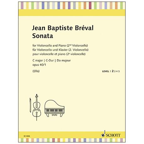 Breval, J-B.: Violoncellosonate Op. 40/1 C-Dur