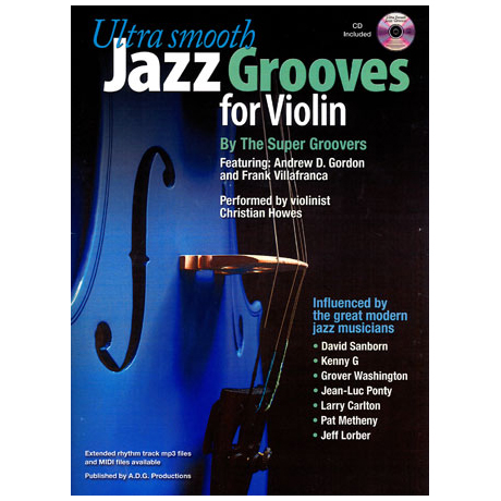 Ultra Smooth Jazz Grooves (+CD)