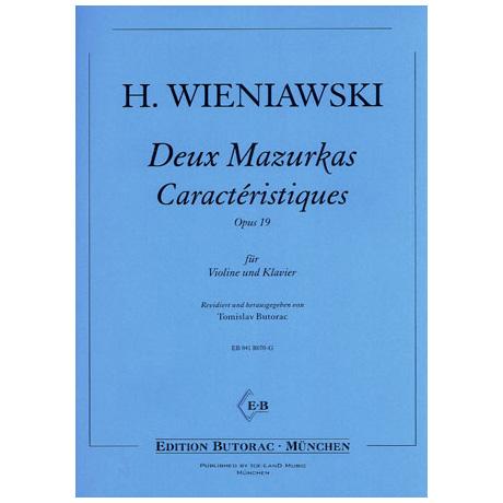 Wieniawski, H.: 2 Mazurkas Caracterist. Op. 19