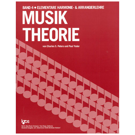 Peters / Yoder: Musiktheorie Band 4
