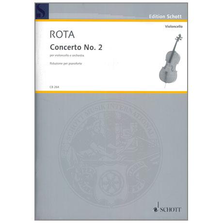 Rota, N.: Violoncellokonzert Nr. 2 (1973)