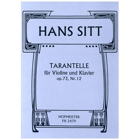Sitt, H.: Tarantelle Op. 73/12