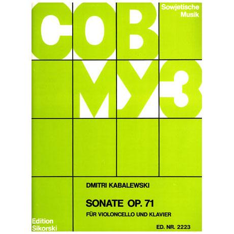 Kabalewski, D.: Cellosonate B-Dur Op.71