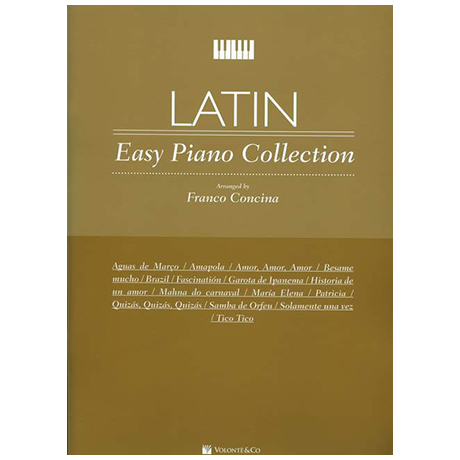Concina, F.: Latin Easy Piano Collection