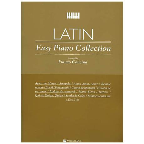 Concina, F.: Latin Easy Piano Collection