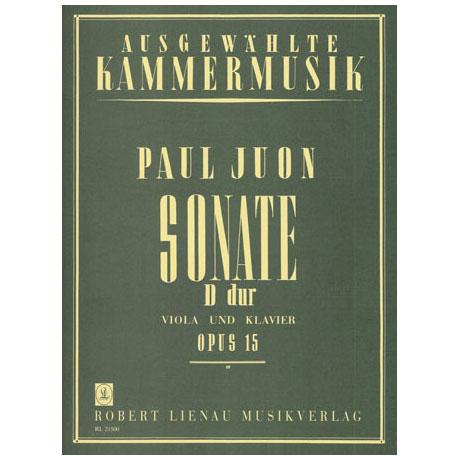 Juon, P.: Violasonate D-Dur Op.15