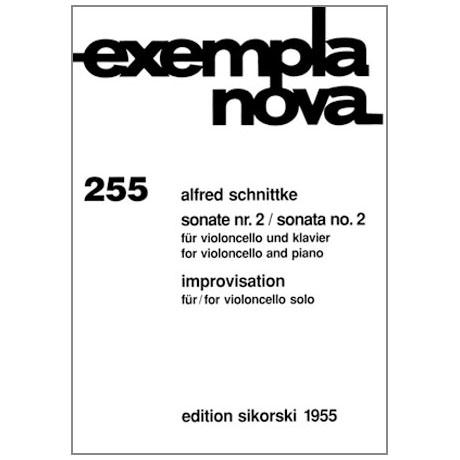 Schnittke, A.: Sonate Nr. 2 / Improvisation