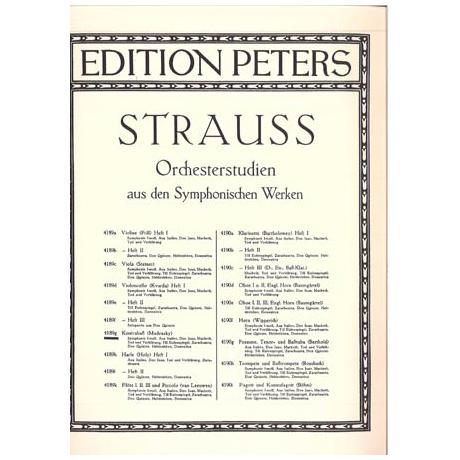 Strauss, R.: Orchesterstudien aus den Symphonischen Werken