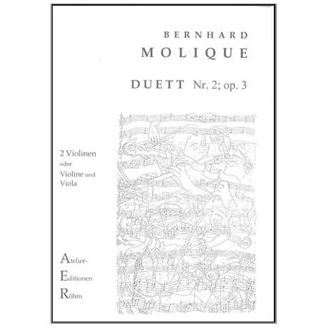 Molique, B.: Duett Nr. 2, op.3