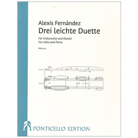 Fernández, A: 3 leichte Duette (2018)