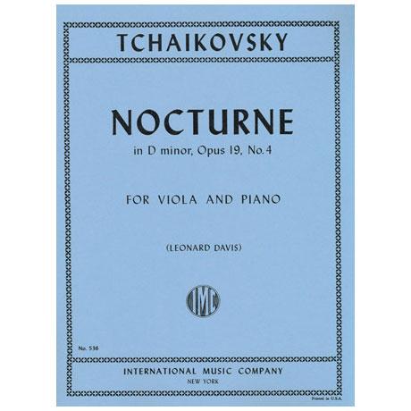 Tschaikowsky, P.I.: Nocturne Op. 19/4