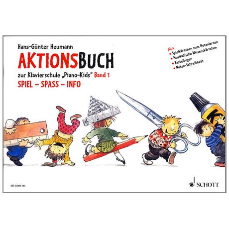 Piano Kids Aktionsbuch 1