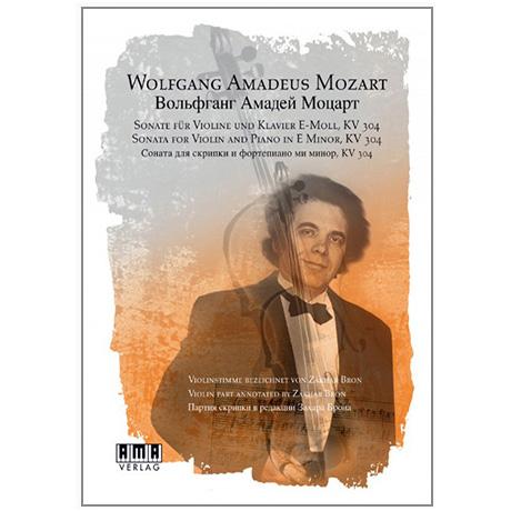 Mozart, W. A.: Sonate e-Moll KV304 (+DVD)