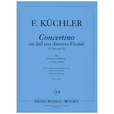 Küchler, F.: Concertino im Stil von Vivaldi D-Dur Op.15