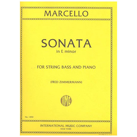 Marcello, B.: Sonate e-Moll