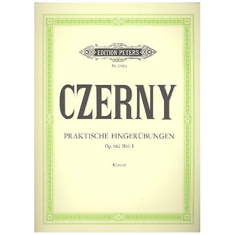 Czerny, C.: Praktische Fingerübungen Op. 802 Band I