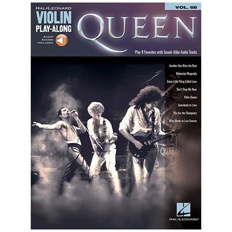 Queen – Violin Play Along 68 (+Online Audio)
