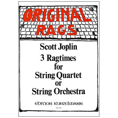 Joplin, Scott: 3 Ragtimes