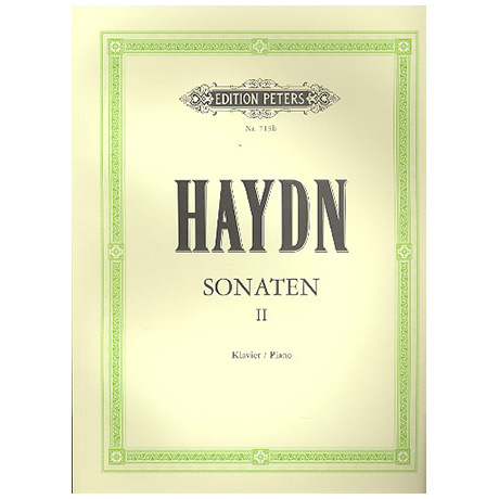 Haydn, J.: Sonaten Band II