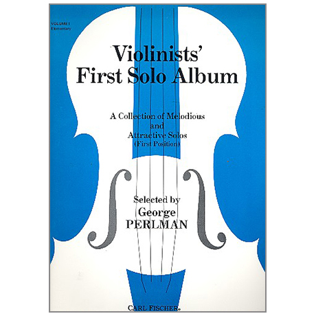 Perlman, G.: Violinists' first Solo Album Vol. 1