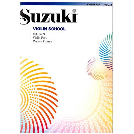 Suzuki Violin School Vol. 3