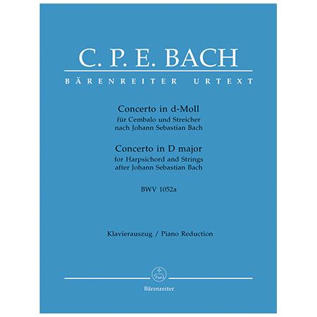 Bach, C. Ph. E.: Cembalokonzert BWV 1052a d-Moll