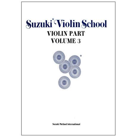 Suzuki Violin School Vol.3 – ältere Ausgabe